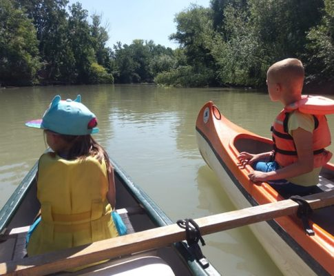 Splavovať rieku s malými deťmi ? Žiaden problém!
